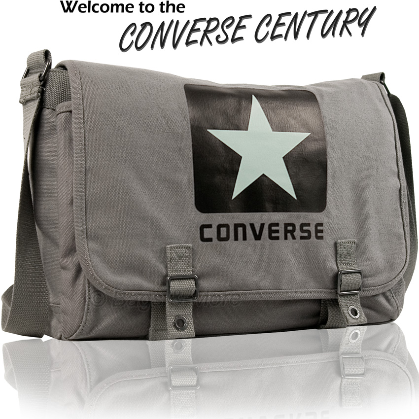 converse umh ngetasche canvas schultertasche. Black Bedroom Furniture Sets. Home Design Ideas