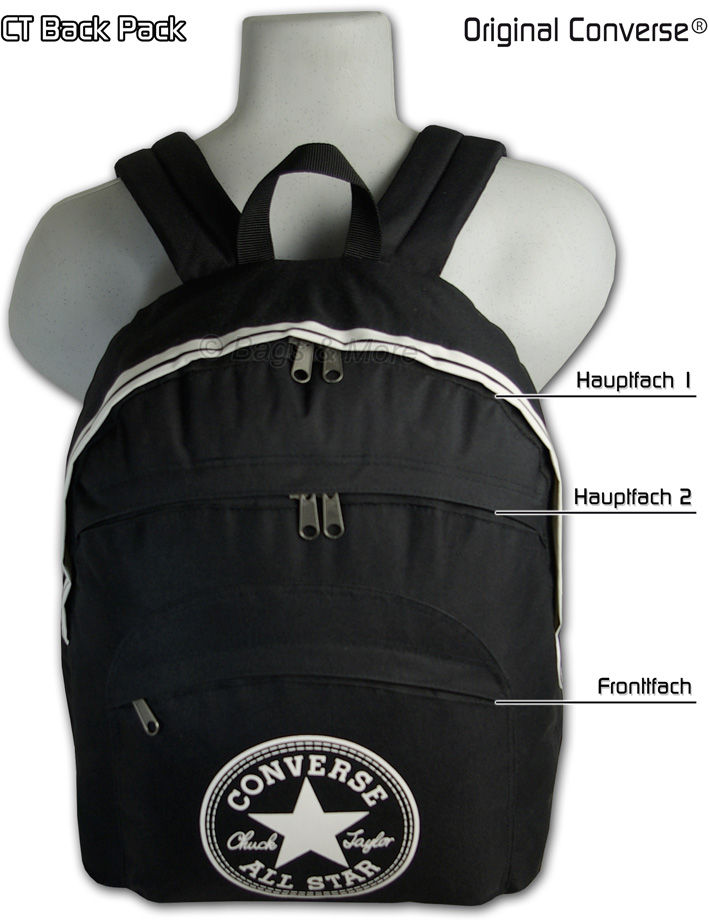 converse rucksack ct backpack schulrucksack schultasche ebay. Black Bedroom Furniture Sets. Home Design Ideas