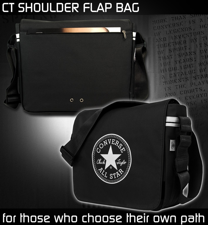 converse umh ngetasche ct flap schultertasche. Black Bedroom Furniture Sets. Home Design Ideas