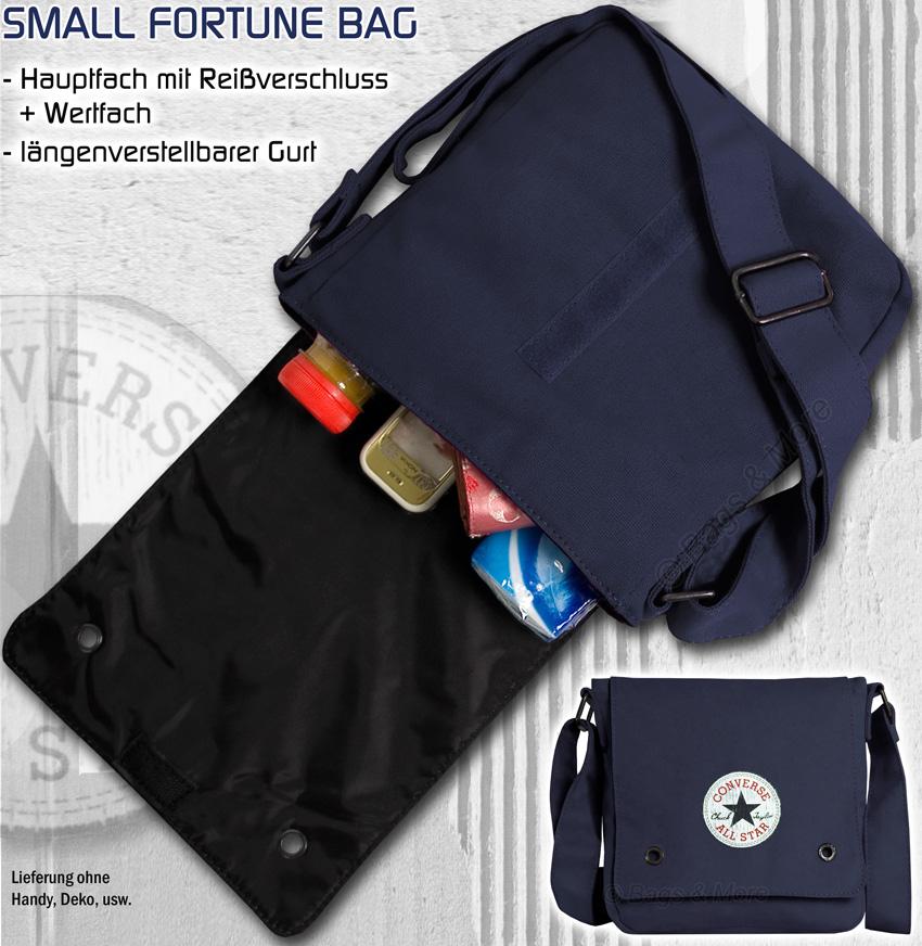 Converse Small Fortune Bag Orange 99121A 77 Handtasche Tasche Schultertasche Umhängetasche