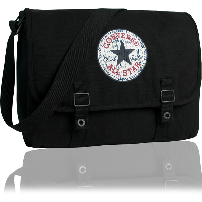 converse umh ngetasche vintage patch tasche schultertasche. Black Bedroom Furniture Sets. Home Design Ideas