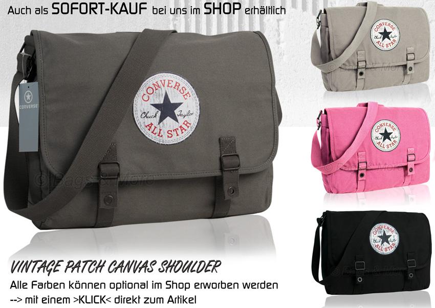 56751f1c1512f CONVERSE Umhängetasche Schultertasche Überschlagtasche Tasche ...