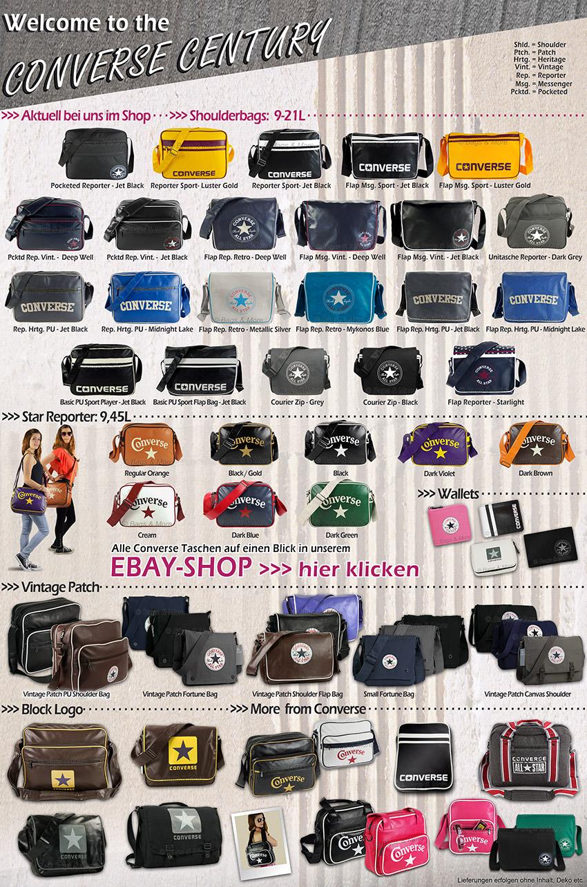 Mit einem Klick alle Marken-Artikel von Converse im eBay-Shop aufrufen >>