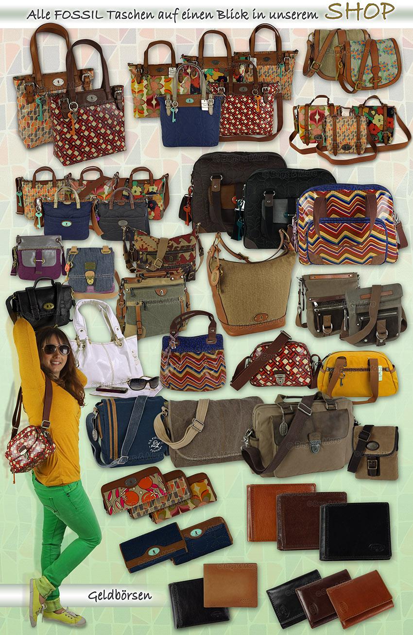 Alle Fossil-Handtaschen in unserem eBay-Shop ansehen > einfach klicken >