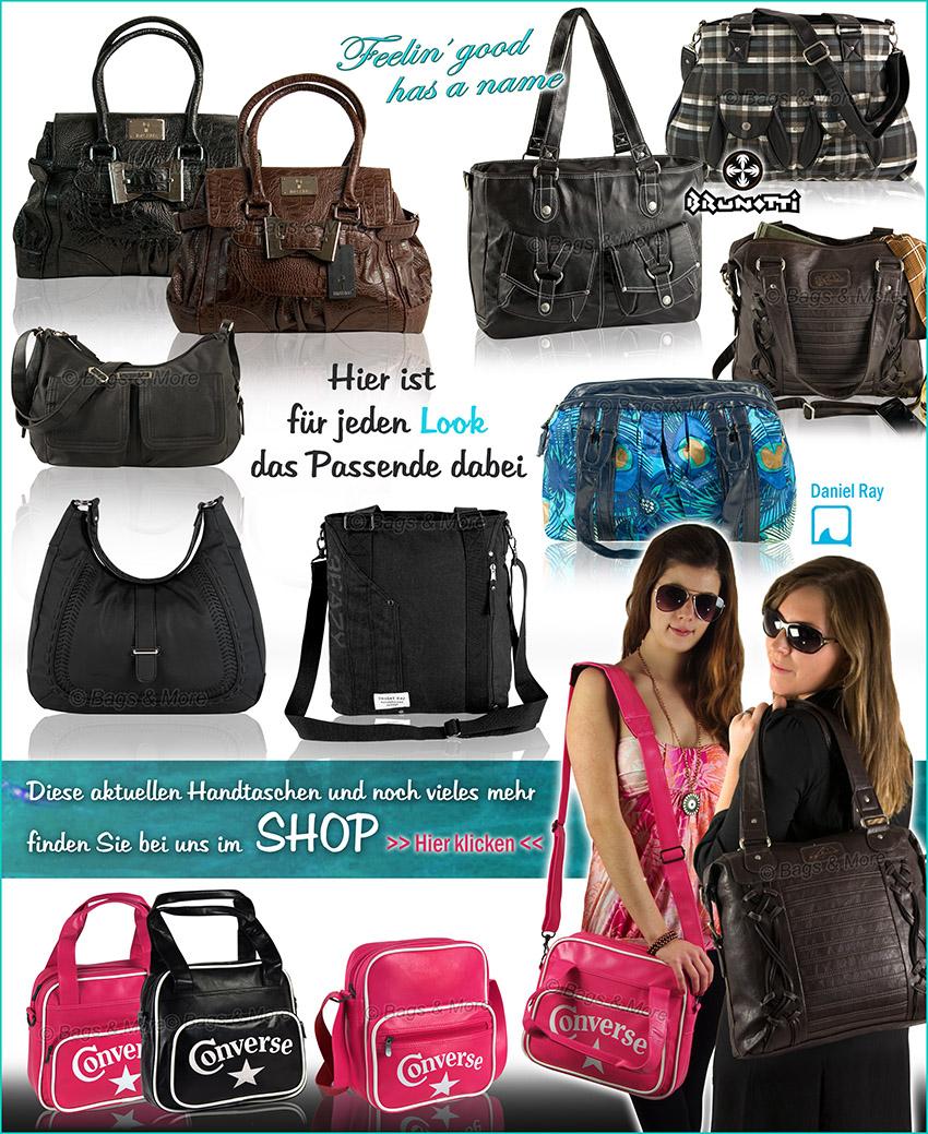 Alle Handtaschen in unserem eBay-Shop ansehen > einfach klicken >