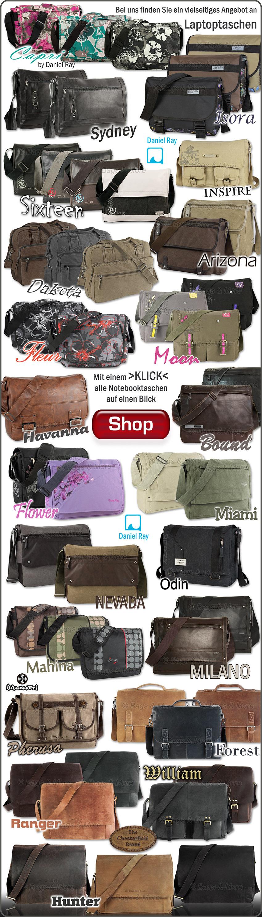 Hier klicken und eine große Auswahl an Notebook-Taschen im Shop ansehen >>