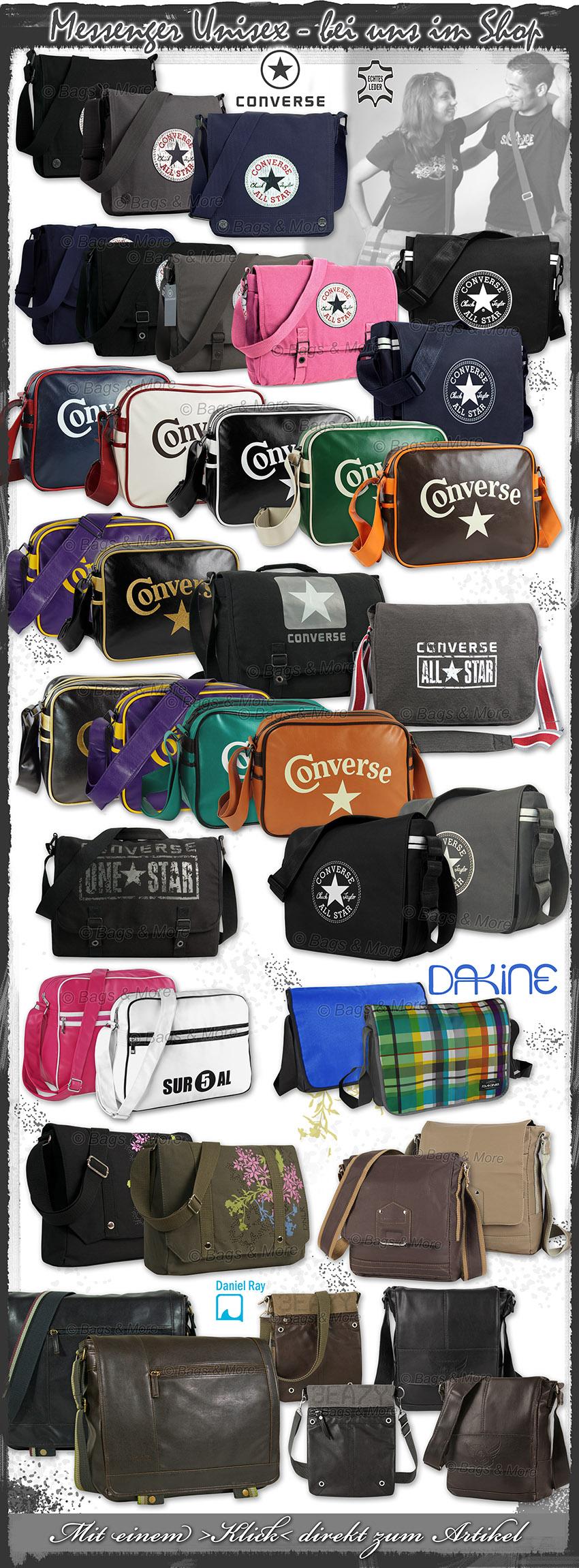 Mit einem Klick coolen Umhängetaschen und Messenger-Bags ansehen >>