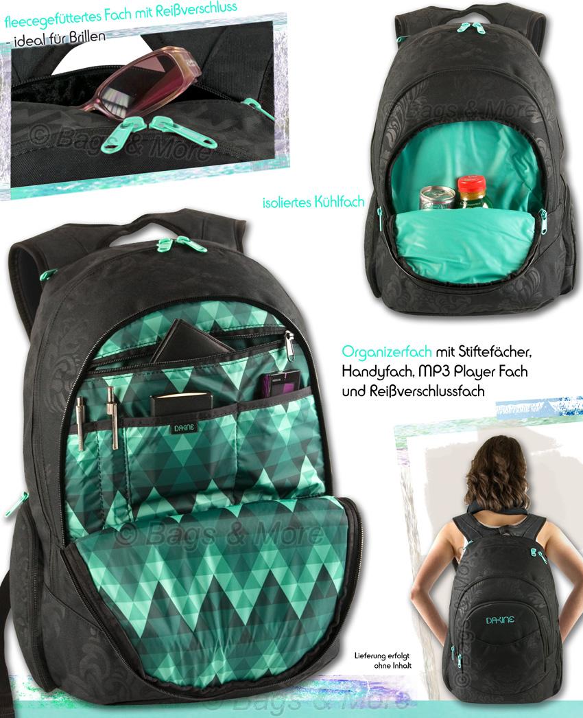 dakine schulrucksack prom laptop notebook rucksack With katzennetz balkon mit dakine garden pack
