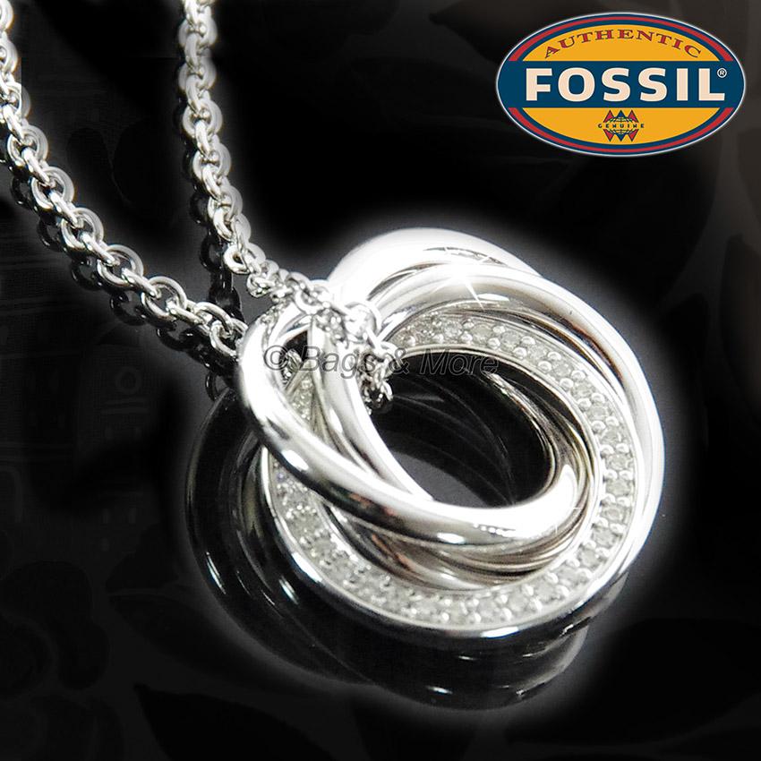 Damen schmuck  FOSSIL Armband MIRACLE Armkette 925 Silber Damen Schmuck Zirkonia ...