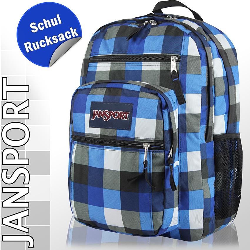 JANSPORT Schulrucksack BIG STUDENT Rucksack Schultasche Ranzen ...