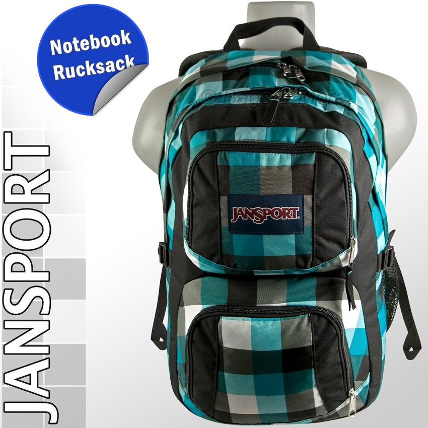 JANSPORT Schulrucksack MERIT Laptop Notebook Rucksack Sportrucksack ...